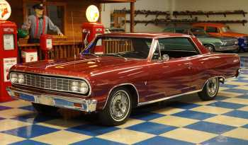 1964 Chevrolet Malibu SS – Palomar Red full