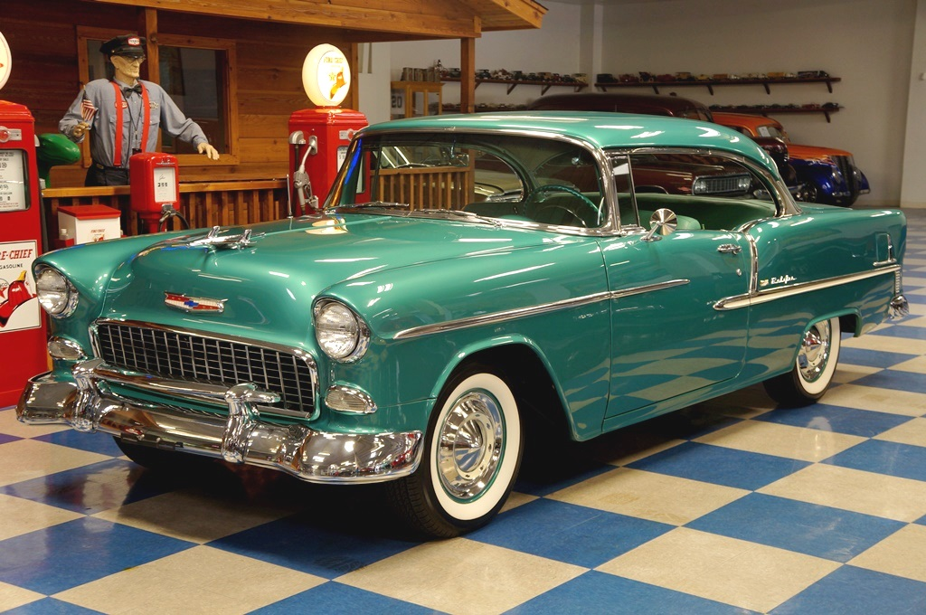 1955 Chevrolet Bel Air – Neptune Green – A&E Classic Cars