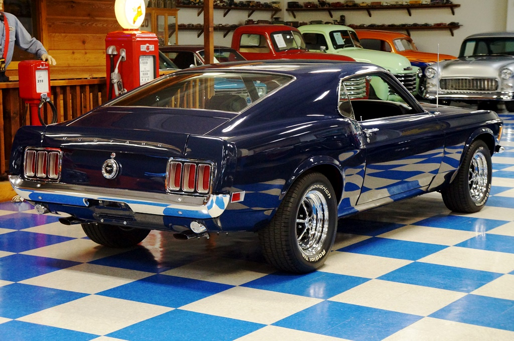 Magnum 500 Wheels >> 1970 Ford Mustang Fastback – Blue – A&E Classic Cars