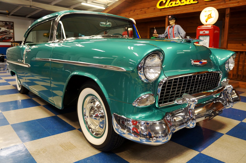 1955 Chevrolet Bel Air Neptune Green A Amp E Classic Cars