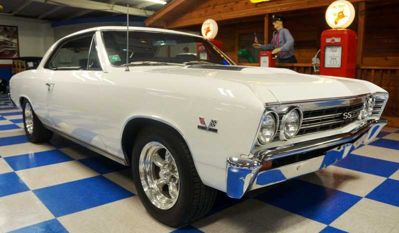 "1967 Chevrolet Chevelle SS ""Tribute"" – Summit White full"