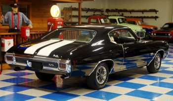 1970 Chevrolet Chevelle SS w/ Build Sheet – Tuxedo Black / White full