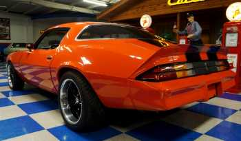 1978 Chevrolet Camaro w/ Split Bumperettes Clip – Orange / Black full