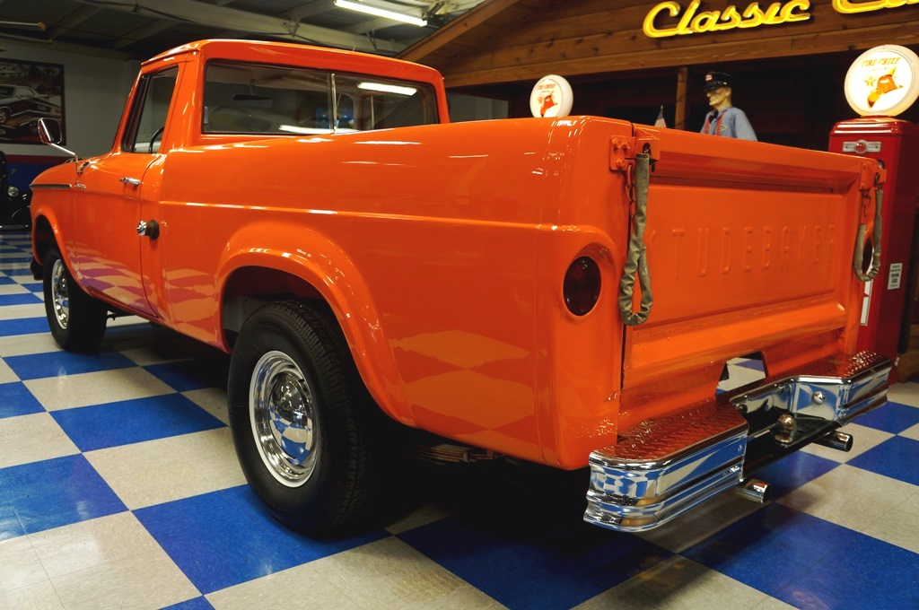 1964 Studebaker Champ Pickup – Omaha Orange – A&E Classic Cars