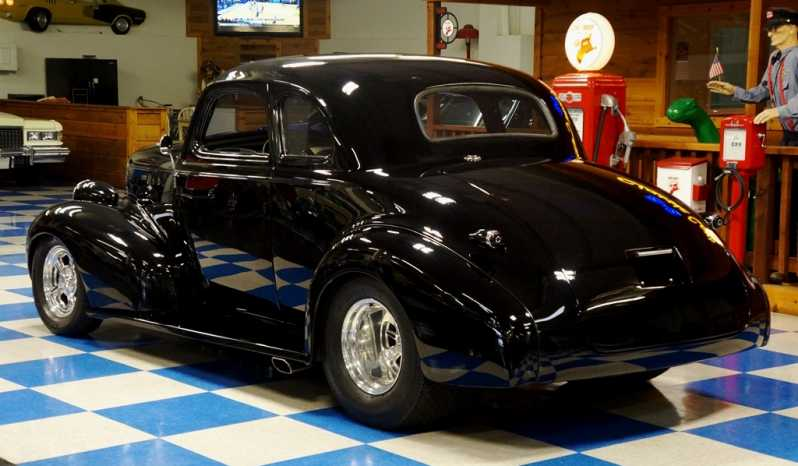 1939 Chevrolet Coupe Resto-Mod – Black full