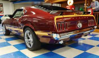 1969 Ford Mustang Mach 1 – Maroon full