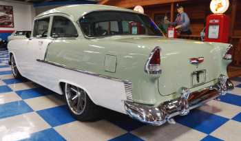 1955 Chevrolet 210 Resto Mod – Sage Green / Ceramic White full