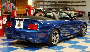 2006 Ford Mustang Convertible Roush Stage 3 LOW MILES- Blue / White / Black full