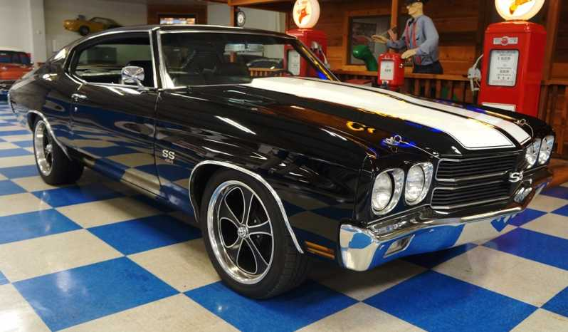 1970 Chevrolet Chevelle SS454 – Black / White full