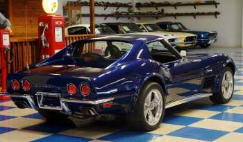 1972 Chevrolet Corvette Resto Mod LS3 – LeMans Blue Metallic full