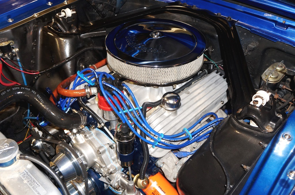 1965 Ford Mustang 5 Speed Viper Blue White A Amp E