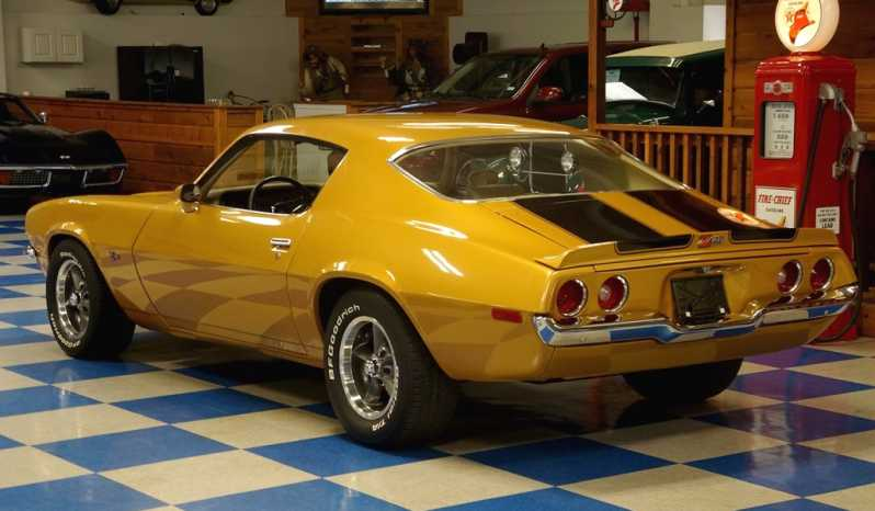 1970 Chevrolet Camaro – Camaro Gold / Black full
