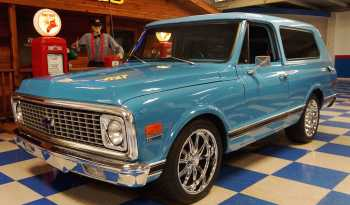 1970 Chevrolet Blazer – Two Tone Blue full