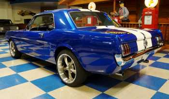 1965 Ford Mustang 5 Speed – Viper Blue / White full