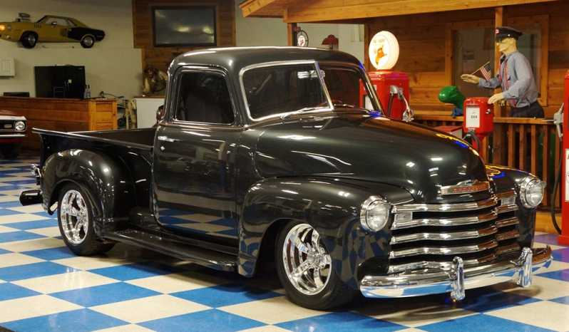 1948 Chevrolet 5 Window Pickup – Pepper Gray full