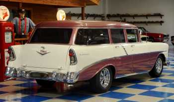 1956 Chevrolet 210 Wagon – Purple / Ivory full