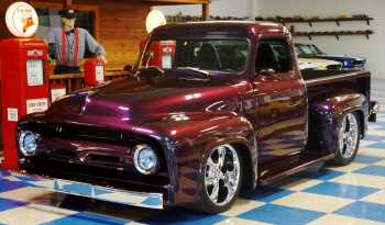 1954 Ford F100 Custom Pickup – Chameleon PPG full
