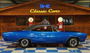 1970 Plymouth GTX 440 – Blue / Black full