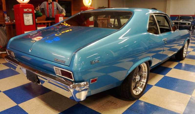 1968 Chevrolet Nova LS3 – Grotto Blue full
