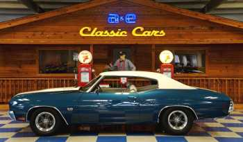 1970 Chevrolet Chevelle SS454 – Blue / White full