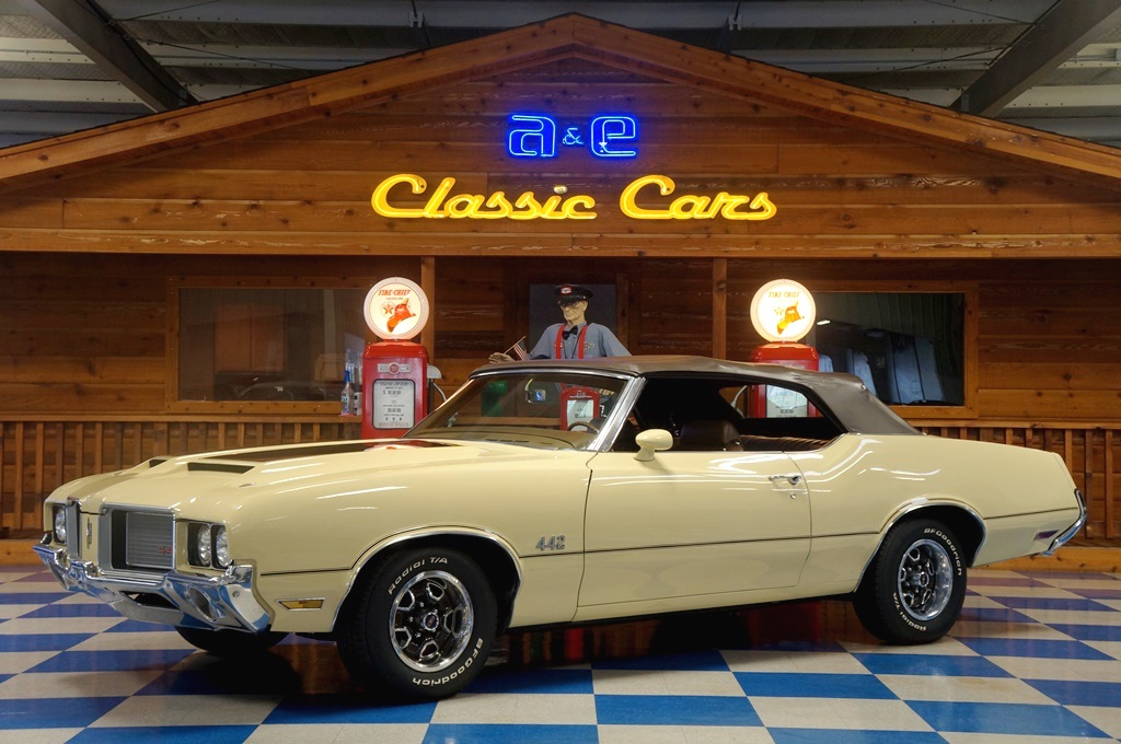 1972 oldsmobile 442 convertible bamboo brown a e classic cars