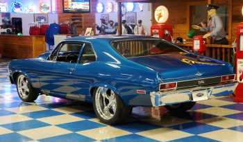 1972 Chevrolet Nova Resto Mod – Blue full