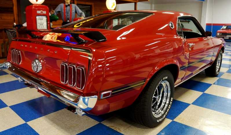 1969 Ford Mustang Mach 1 – Red / Black full
