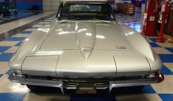 1966 Chevrolet Corvette Convertible Number Matching – Silver / Black full
