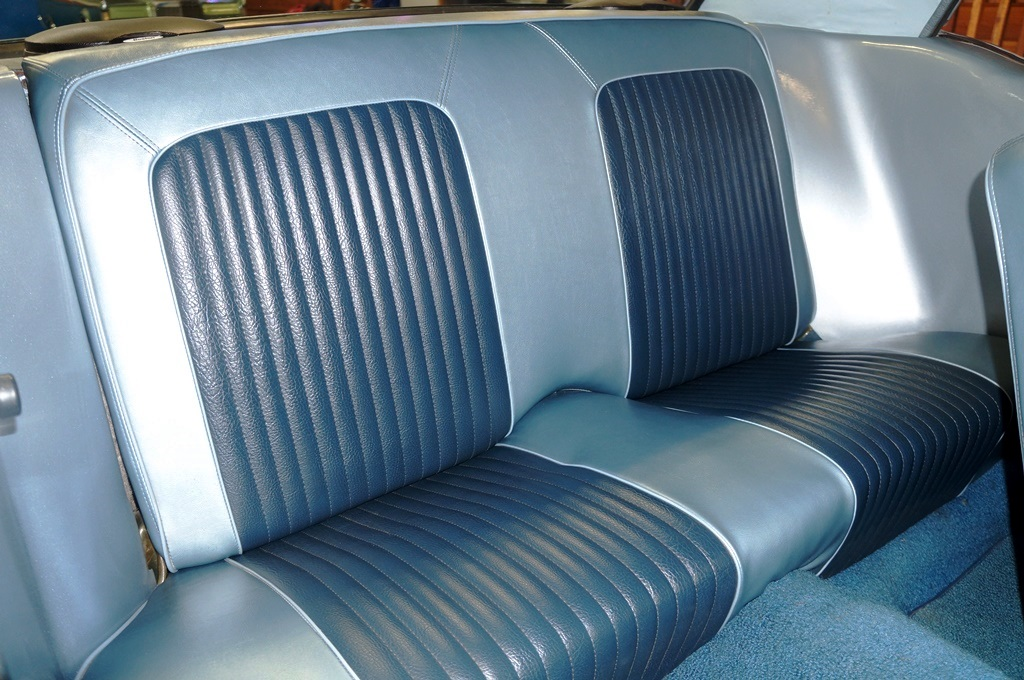 1968 Ford Mustang Coupe – Blue – A&E Classic Cars