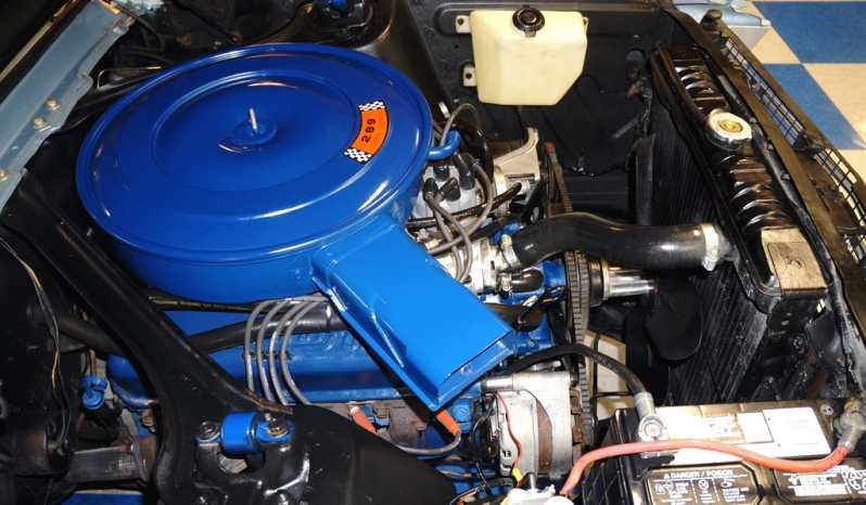 1968 Ford Mustang Coupe – Blue full