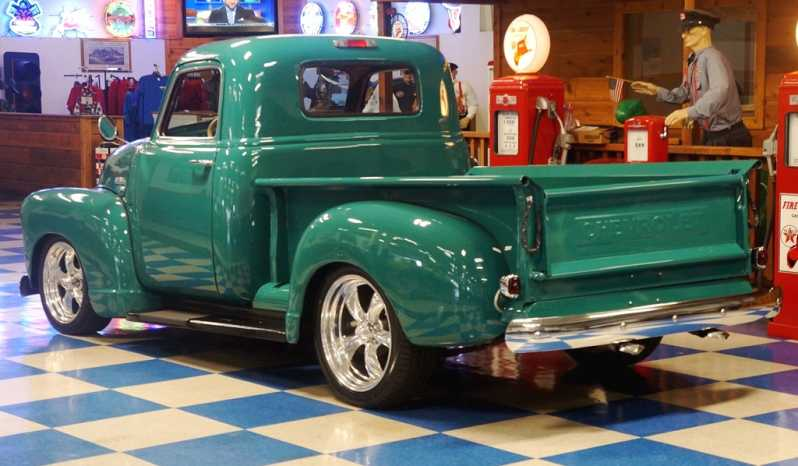 1950 Chevrolet 3100 Pickup Green A Amp E Classic Cars