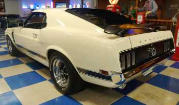 1970 Ford Mustang Boss 302 – White / Black full