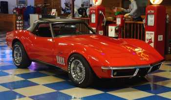 1969 Chevrolet Corvette Convertible Numbers Matching – Red / Black full
