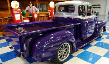 1948 Chevrolet 5 Window Pickup – Porsche Amaranth Violet / Graphite Gray full