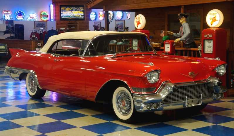 "1957 Cadillac Eldorado Biarritz Convertible ""RARE 1 of 1,800 Built""- Red full"
