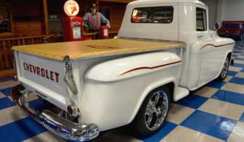 1955 Chevrolet 3100 Pickup – Classic White / Burgundy full