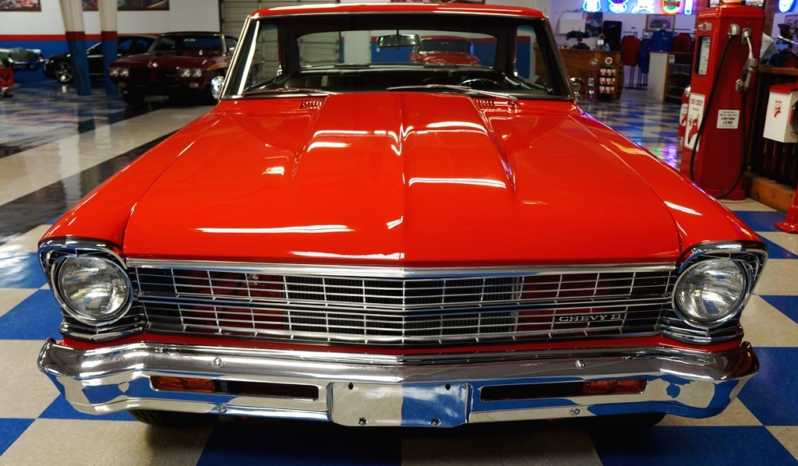 1967 Chevrolet Nova – Torch Red full