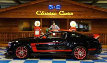 "2012 Mustang Boss 302 Laguna Seca ""1,183 MILES"" – Black / Red full"