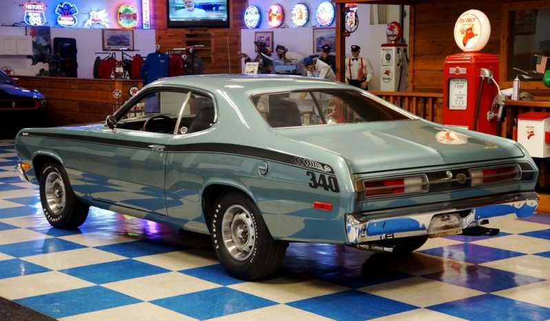1972 plymouth duster winchester gray a e classic cars. Black Bedroom Furniture Sets. Home Design Ideas