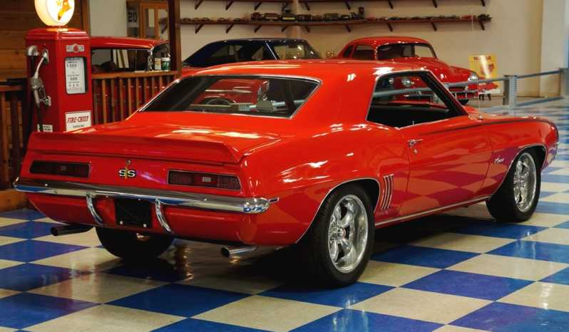1969 Chevrolet Camaro – Brite Red full