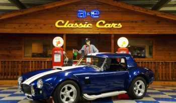 "1966 Cobra Replica ""Lonestar Kit"" – Indigo Blue / White full"