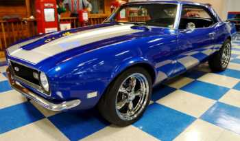 1968 Chevrolet Camaro – Blue / Silver full