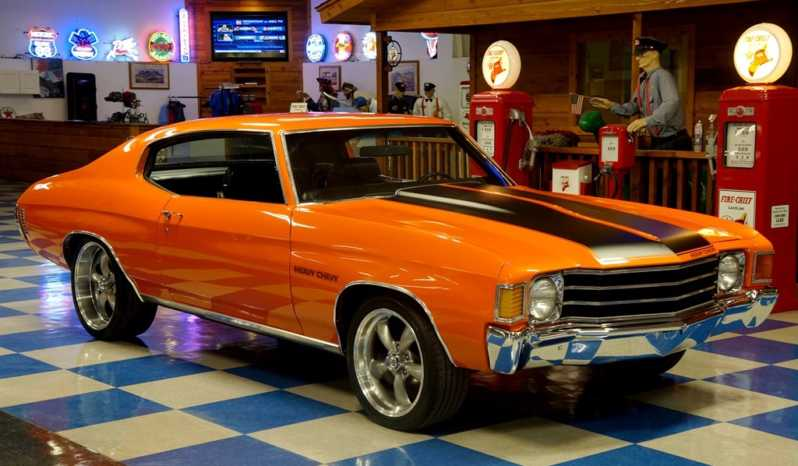 1972 Chevrolet Chevelle – Pumpkin Blood & Black full
