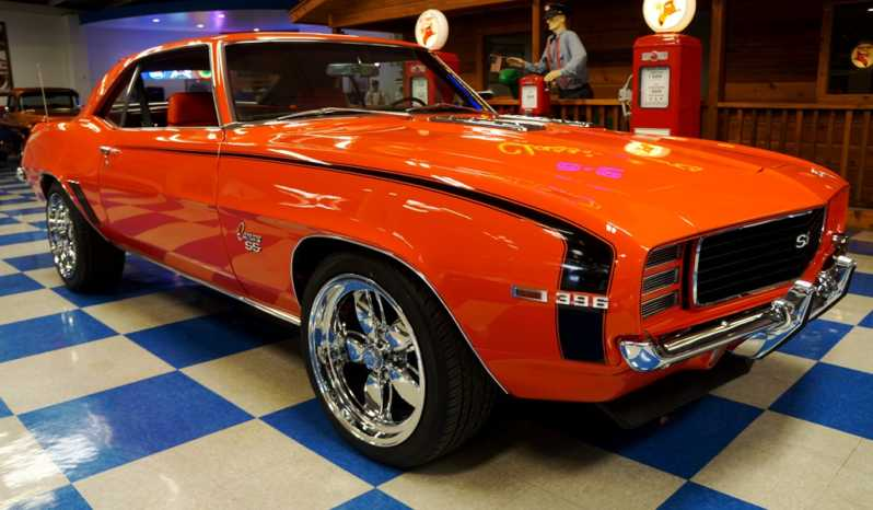 1969 Chevrolet Camaro 396 cui Big Block – Hugger Orange / Black full