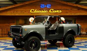 1977 International Scout II – Gray / Black full