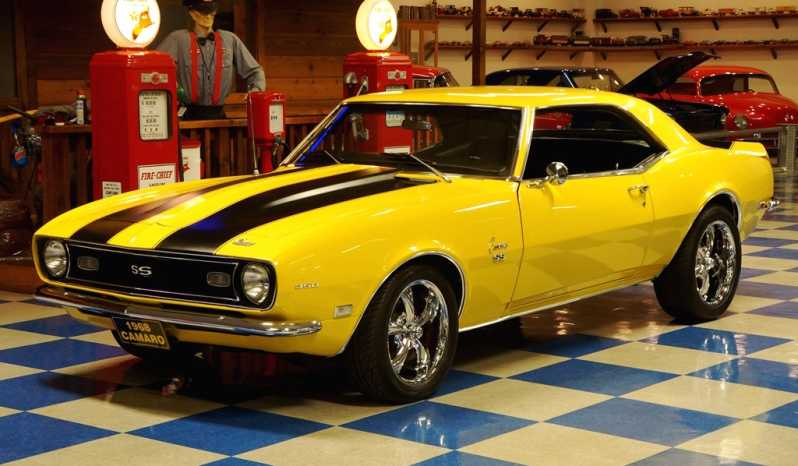 1968 Chevrolet Camaro – Yellow / Flat Black full