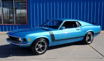 "1970 Ford Mustang Boss 302 ""Tribute"" – Medium Blue / Black full"
