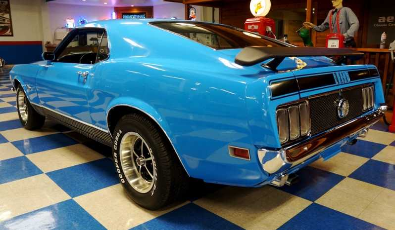1970 Ford Mustang Mach 1 – Grabber Blue / Black full
