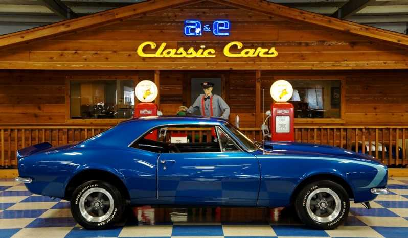 1967 Chevrolet Camaro – Blue full