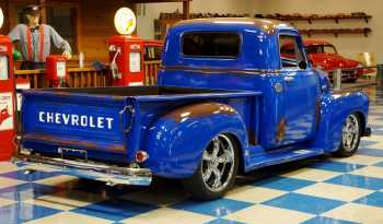 "1954 Chevrolet Pickup ""Patina"" – Blue / Brown full"
